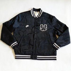 Mens Nike Sportswear Blue Varsity Bomber Jacket XL